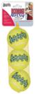 Kong-Squeakair-Tennisbal-Geel-Met-Piep-Medium-65-Cm-3-St