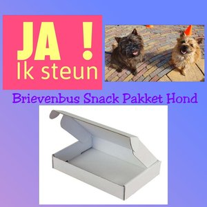 Brievenbus Snack Pakket Hond