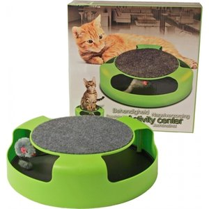 Activity Center Met Muis Groen 25 Cm
