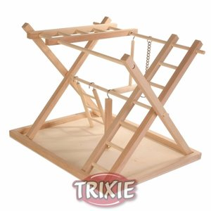 Trixie Houten Speeltuin 36x26x29 Cm