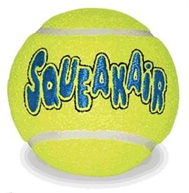 Kong Squeakair Tennisbal Geel Met Piep Large 8 Cm