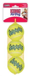 Kong Squeakair Tennisbal Geel Met Piep Small 5 Cm 3 St